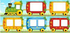 паровозик с вагончиками для стенгазеты - Поиск в Google