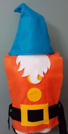 Sleepy Costume Set Snow White Seven Dwarfs by TeatotsPartyPlanning