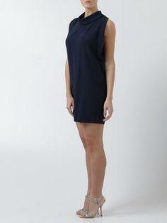 Stella McCartney-abito corto blu-blue dress-Stella McCartney 2014 shop online