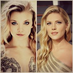 Gold queens-Natalie Dormer&Katheryn Winnick