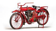 would die for one! 1913 Indian Twin presented as lot S27. #Mecum #EJCole #Motorcycles #LasVegas