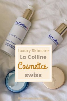 My beauty routine with luxurious La Colline Skincare products - a high quality swiss brand. I have tested the products for you: Face Mask, Tonic and Cleansing Gel. #cosmetics #skincare #skincareroutine #beautyroutine #facemask #face care