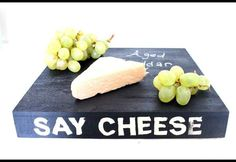 Whip up a DIY chalk cheeseboard for your next party!