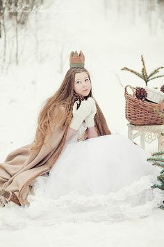 This winter princess is stunning!