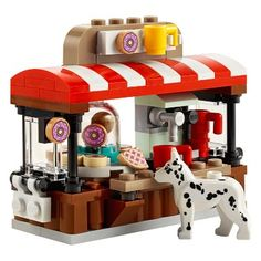 Lego Bean There, Donut That - Eskerme Conke Minifigura Lego, Lego Food, Lego Craft, Lego Minecraft, Lego Batman, Legos, Buy Lego, Instructions Lego, Lego Winter Village