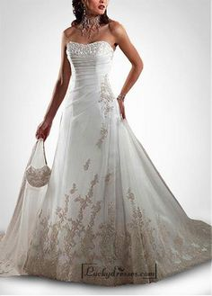 Taffeta Wedding Dresses Beautiful Elegant Tulle A-line Sweetheart Wedding Dress In Great Handwork Buy Wedding Dress, Wedding Dresses 2014, Sweetheart Wedding Dress, Country Wedding Dresses, Designer Wedding Dresses, Wedding Designers, Backless Wedding, Mermaid Wedding, Party Dresses
