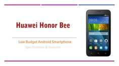 Huawei Honor Bee Price in Pakistan with Review and Specs