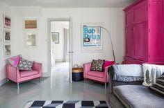 Beach Style Living Room by Gabriel Holland Interior Design