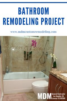 It's necessery to hire a general contractor for a bathroom remodeling project in LA.