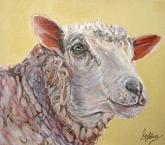 Realistic Drawings Of Sheep Paintings Of Sheep High