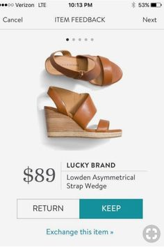 Stitch Fix Lucky Brand Lowden Asymmetrical Strap Wedge / Stitch Fix wedges / Stitch Fix summer shoes #stitchfix #stylingstitchfix #myfavehello Everyday Look, Stitch Fix Stylist, Sophisticated Style, Summer Shoes, Summer Outfits, Lucky Brand, Cute Shoes, Wedge, Stylists