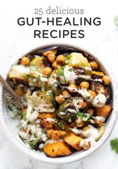 Gut Healing Recipes | 25 Easy & Delicious Recipe Ideas - Simply Quinoa