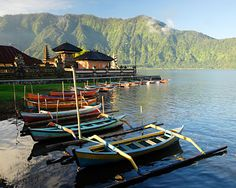 Bali, Indonesia! After reading/watching/ listening to 'Eat, Pray, Love' I decided that before I die I want to go to Bali. Every picture I see of this island is stunning!