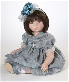 Silver Lining Limited Edition Porcelain Doll By Marie Osmond
