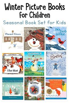 Popular Winter Picture Books for Kids- favorite fiction books about winter for children; toddlers, preschool, kindergarten and primary grades. Winter Activities, Preschool Activities, Activities For Kids, Winter Thema, Preschool Books, Preschool Winter, Preschool Class, Winter Pictures, Winter Fun