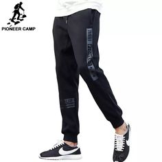 ab346af9f Pioneer Camp thick fleece pants men top quality autumn winter warm male  sweatpants brand clothing joggers