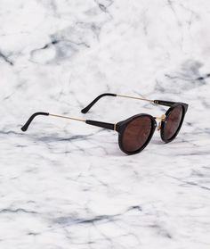 SUPER Panama Sonnenbrille Black