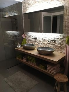 Bathroom Sink Design, Bathroom Design Luxury, Bathroom Spa, Rustic Bathrooms, Industrial Bathroom, Living Room Entertainment Center, Bathroom Design Inspiration, Shower Remodel, Beautiful Bathrooms