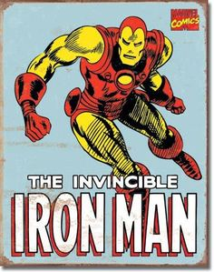 vintage+images+of+iron+man | Vintage Iron Man Sign - Vintage Sign Shack