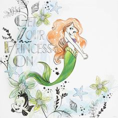 The Little Mermaid Ariel Mermaid, Mermaid Disney, Ariel The Little Mermaid, Mermaid Princess, Disney Dream, Disney Love, Disney Magic, Disney Nerd, Disney Fan Art
