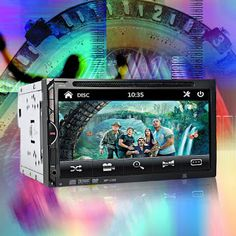 2 Din Car Video Player DVD 7 HD Touch Screen Bluetooth Stereo Radio Car Audio Auto Electronics Support Rear View Camera (32746845732)  SEE MORE  #SuperDeals