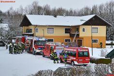 FF Andorf: Küchenbrand in Andorf #fire #firemen #kitchen #snow #white #red