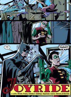 Batman needs a Robin.