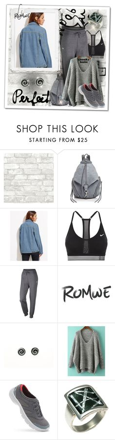 """sporty"" by giampourasjewel ❤ liked on Polyvore featuring Rebecca Minkoff, NIKE and Naturalizer"