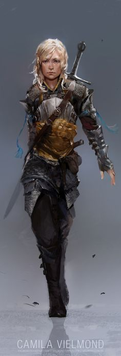 Random Fantasy/RPG artwork I find interesting,(*NOT MINE) from Tolkien to D&D. Dungeons And Dragons Characters, D D Characters, Fantasy Characters, Dungeons And Dragons Ranger, Fictional Characters, Dark Fantasy, Fantasy Armor, Fantasy Women, Fantasy Art Warrior