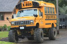 I would take the short bus if it was like this.   Shit!   Back where I come from mine was!  Lol....... Quack!  Boys from the heartland.  Stormfront
