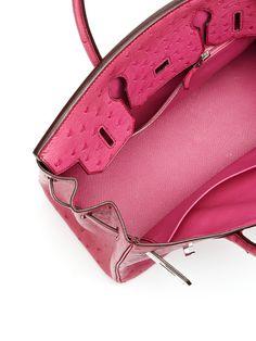 faux hermes handbags - hermes rouge vif ostrich birkin 30cm gold hardware