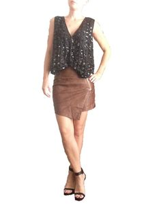 Vintage Black Sequin and Beaded Vest by DIYstylist on Etsy