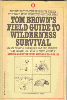 Tom Brown's Field Guide to Wilderness Survival - written by one of the foremost experts in outdoor skills. Survival Shelter, Wilderness Survival, Camping Survival, Outdoor Survival, Survival Prepping, Survival Gear, Survival Skills, Survival Stuff, Bushcraft