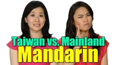 Run through of some differences between Mandarin in Taiwan and China.