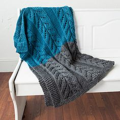 Pemberley Blanket By India Grewal - Free Knitted Pattern - (ravelry)
