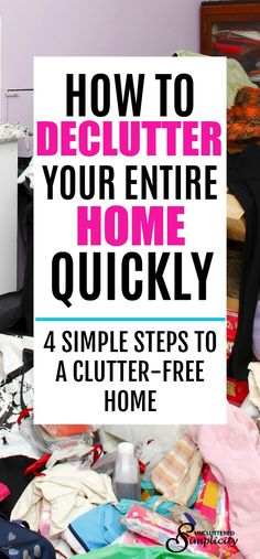 declutter your home | declutter and organize | decluttering methods | clutter-free home | #declutter #decluttering #organization #clutterfree