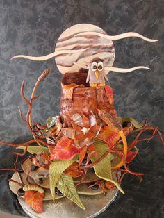 dead dough sculpture by Chef Eric