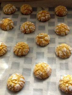 Galletas craqueladas de Naranja – DULCES FRIVOLIDADES Cookie Box, Cookie Jars, Bite Size, Bon Appetit, Fudge, Delicious Desserts, Sweet Tooth, Bakery, Muffin