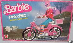 Barbie Motor Bike