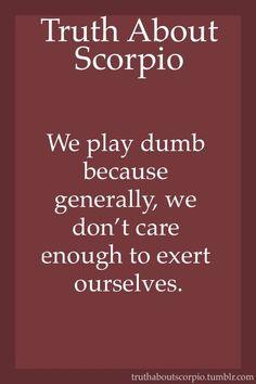 Truth About Scorpio