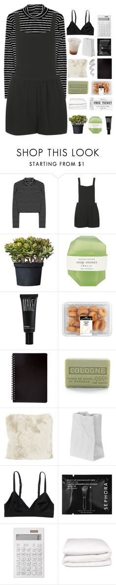 """""""AIN'T NO ROOM FOR WONDERING"""" by txdal-waves ❤ liked on Polyvore featuring Topshop, Pelle, Make, Branche d'Olive, Natures Collection, Melissa, Rosenthal, Monki, Sephora Collection and Muji"""