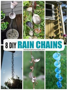 8 Gorgeous DIY Rain Chain Ideas