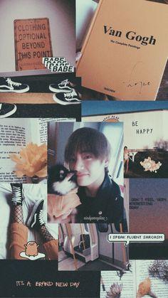 Wallpaper Taehyung BTS aesthetic