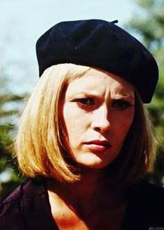 Faye Dunaway as Bonnie in Bonnie and Clyde 1967