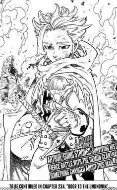 Nanatsu no taizai chapter 233 raw
