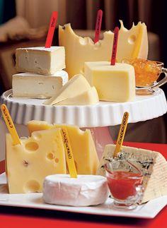 Receba com Bossa | Identificador de queijos | Blog de Casamento
