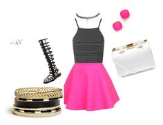 """Summer school dress up"" by ampercentzion on Polyvore featuring UNIF, Topshop, Tyler Alexandra, GUESS, Wet Seal and Kate Spade"