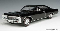 the most popular cars of the world: CHEVROLET impala 1967