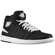Jordan AJ 1 '86 - Boys' Grade School - Basketball - Shoes - Black