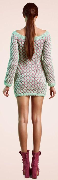 knit dress - Helen Rodel